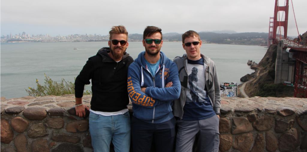 Die Gewinner der diesjährigen Startup Challenge: CoatChecker