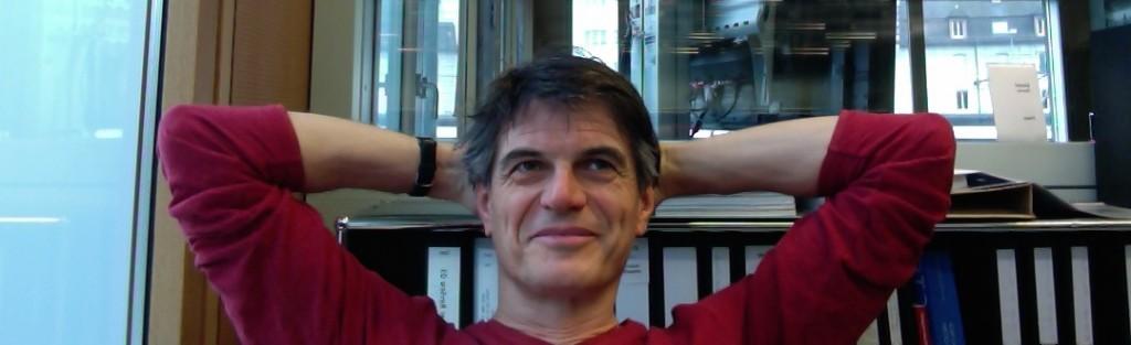Prof. Dr. Daniel Perrin, Leiter IAM Institut für Angewandte Medienwissenschaft