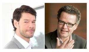Die Gründer von konbenet (Sandro Küng l. und Peter Stücheli-Herlach r.)