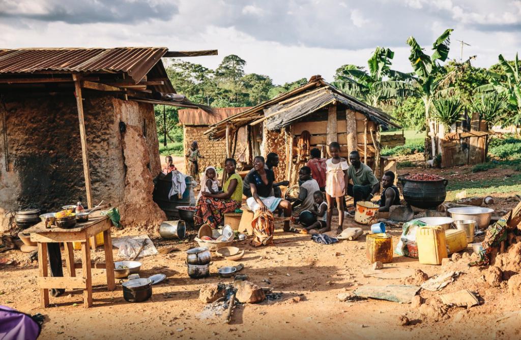 Kakaobauern-Dorf in Ghana (Foto: Florian Schweer)