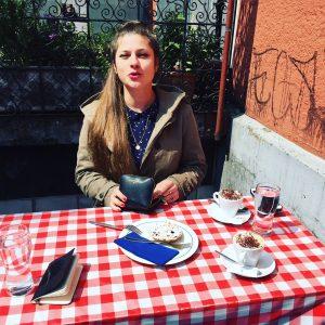 Findet, sie hat einen Traumjob: Rafaela Roth (Fotocredits: IAM)
