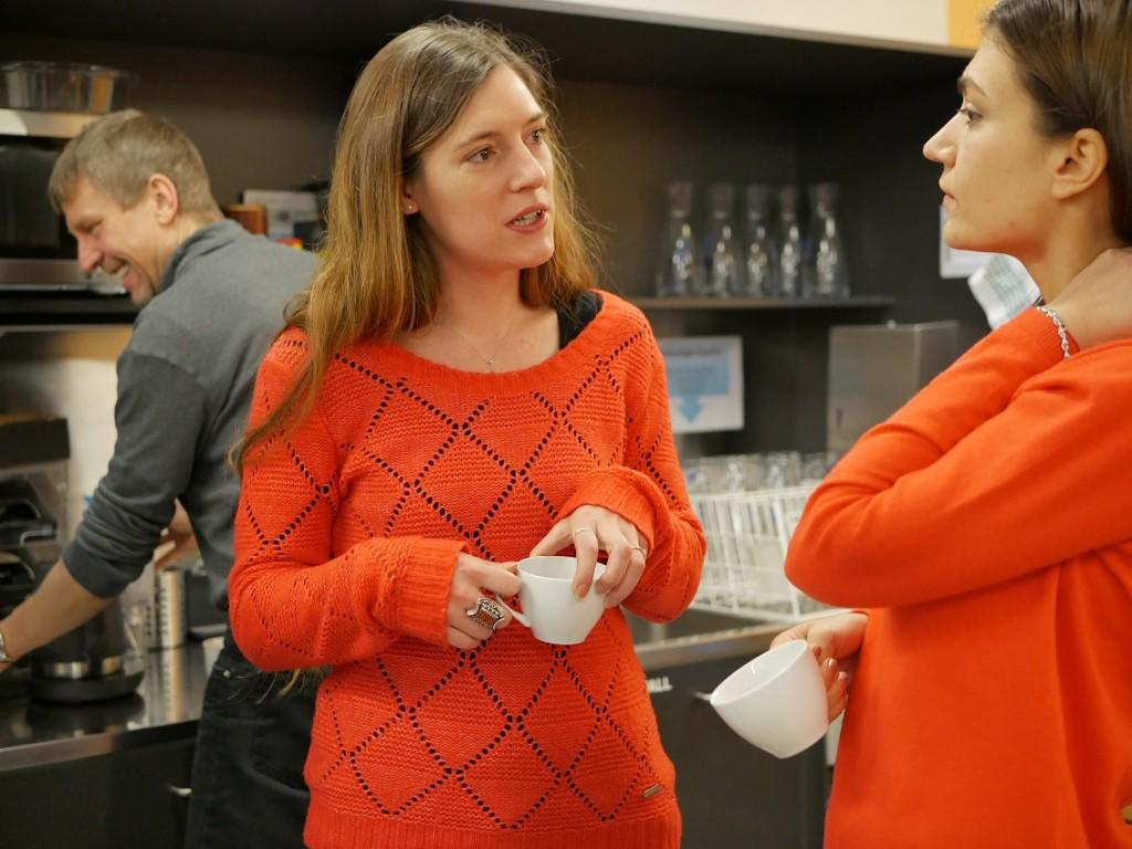 Stephanie Claus im Gespräch mit Milena Tsenova