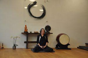 Zen-Meisterin Anna Gamma