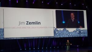 Jim Zemlin, ED, Linux Foundation