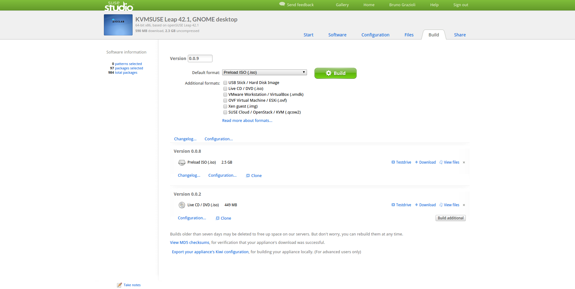 Introducing the official ICCLab linux distro optimized for simple