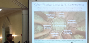 IEEE Fellow Sajal K. Das shows technological convergence of Cyber Physical Systems (CPS).
