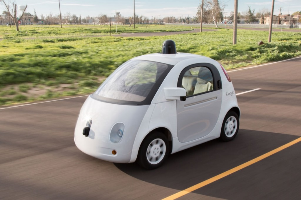 Google self-driving car from https://www.google.com/selfdrivingcar