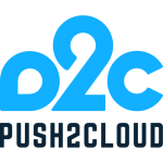 push2cloud logo1 dark square