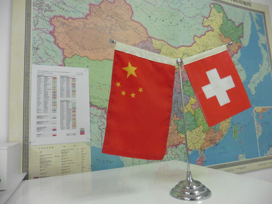 Sino-Swiss encounters