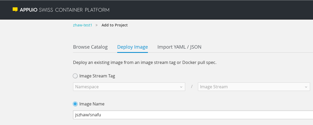 Running Google Cloud Functions in OpenShift | Service