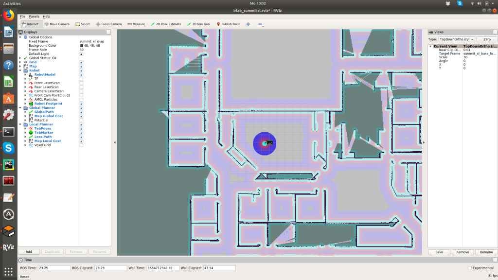 Running the ICCLab ROS Kinetic environment on your own
