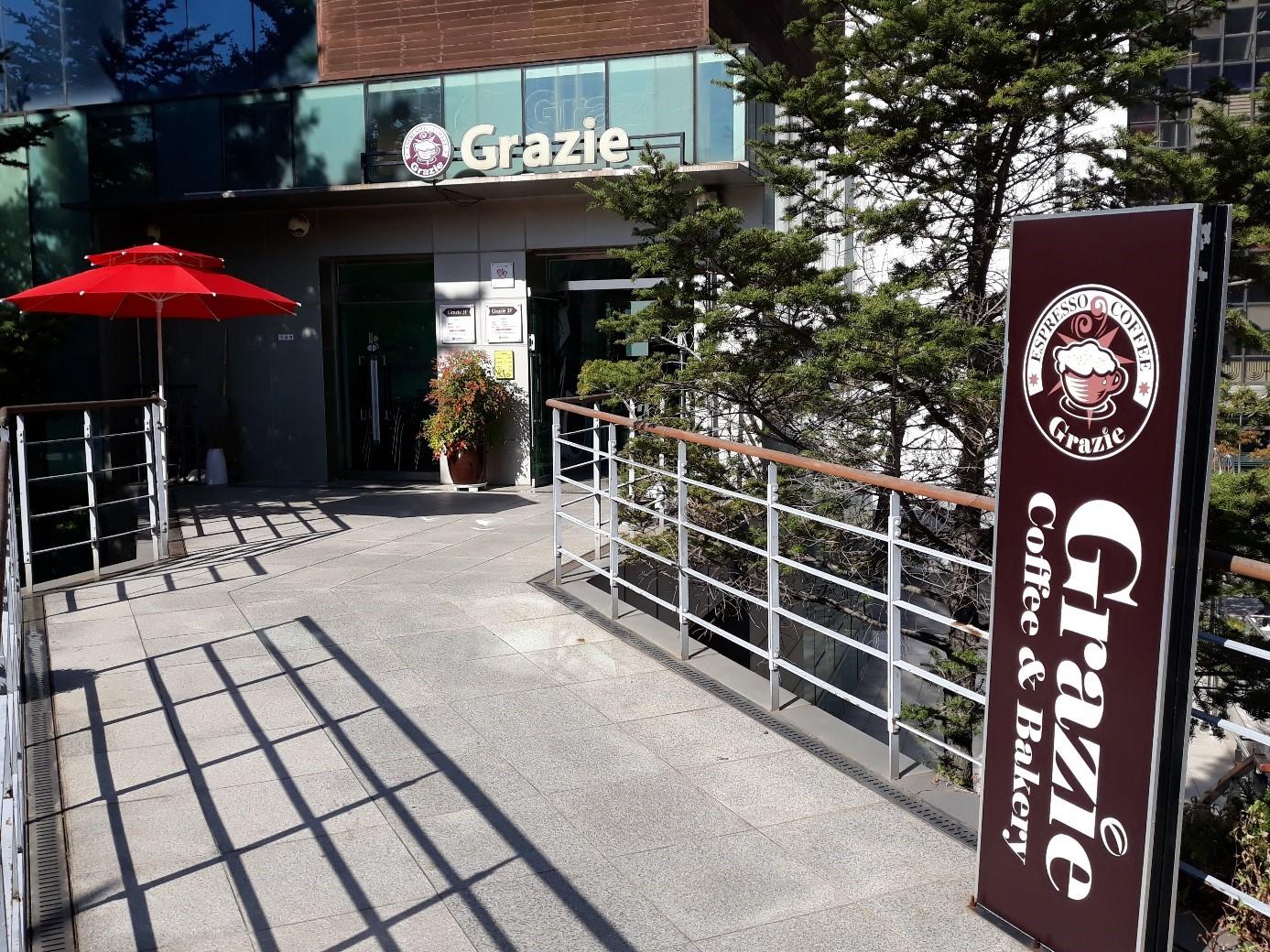 Das «Quartier Latin» in Incheon: Italienische und vor allem französische Namen und Lebensart stehen hoch im Kurs.