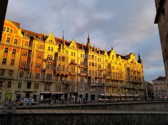 Prague in November