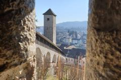 The Munot in Schaffhausen