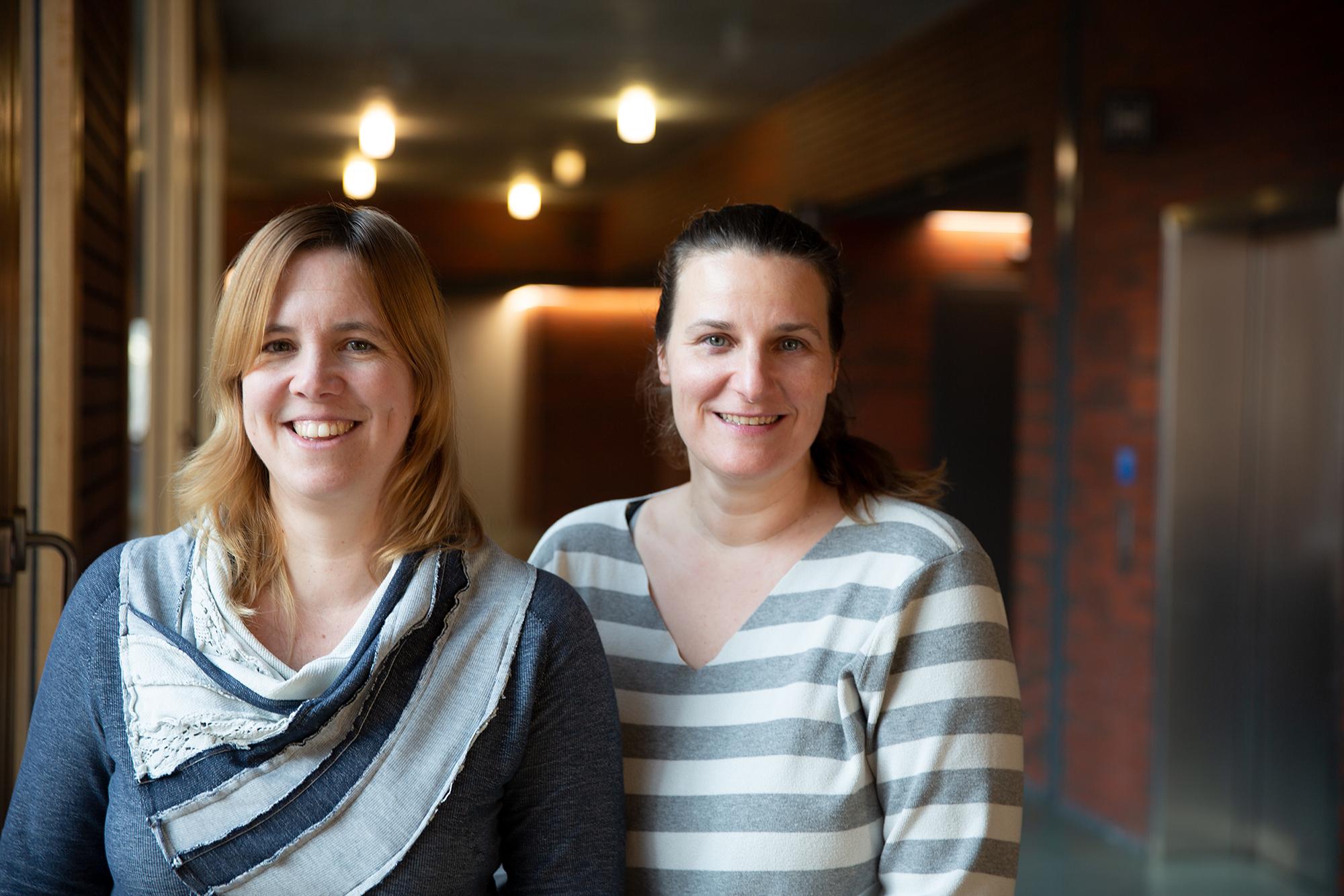 Carmen Koch und Nadine Klopfenstein von IAM Institut für Angewandte Medienwissenschaft