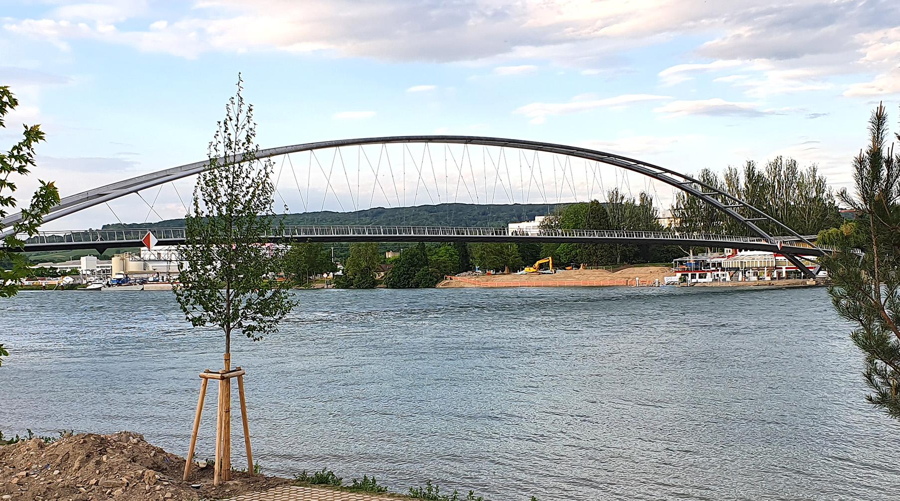 Dreilaenderbruecke bei Basel Grenzgänger zhaw-angewandtelinguistik