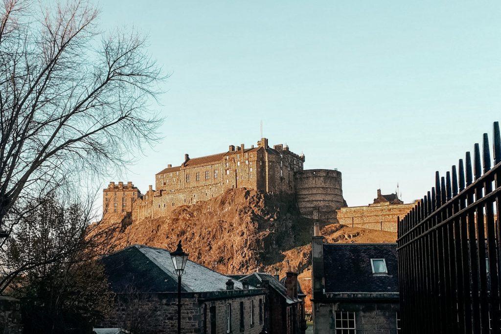 Auslandsemester in Edinburgh. Schloss von Edinburgh.