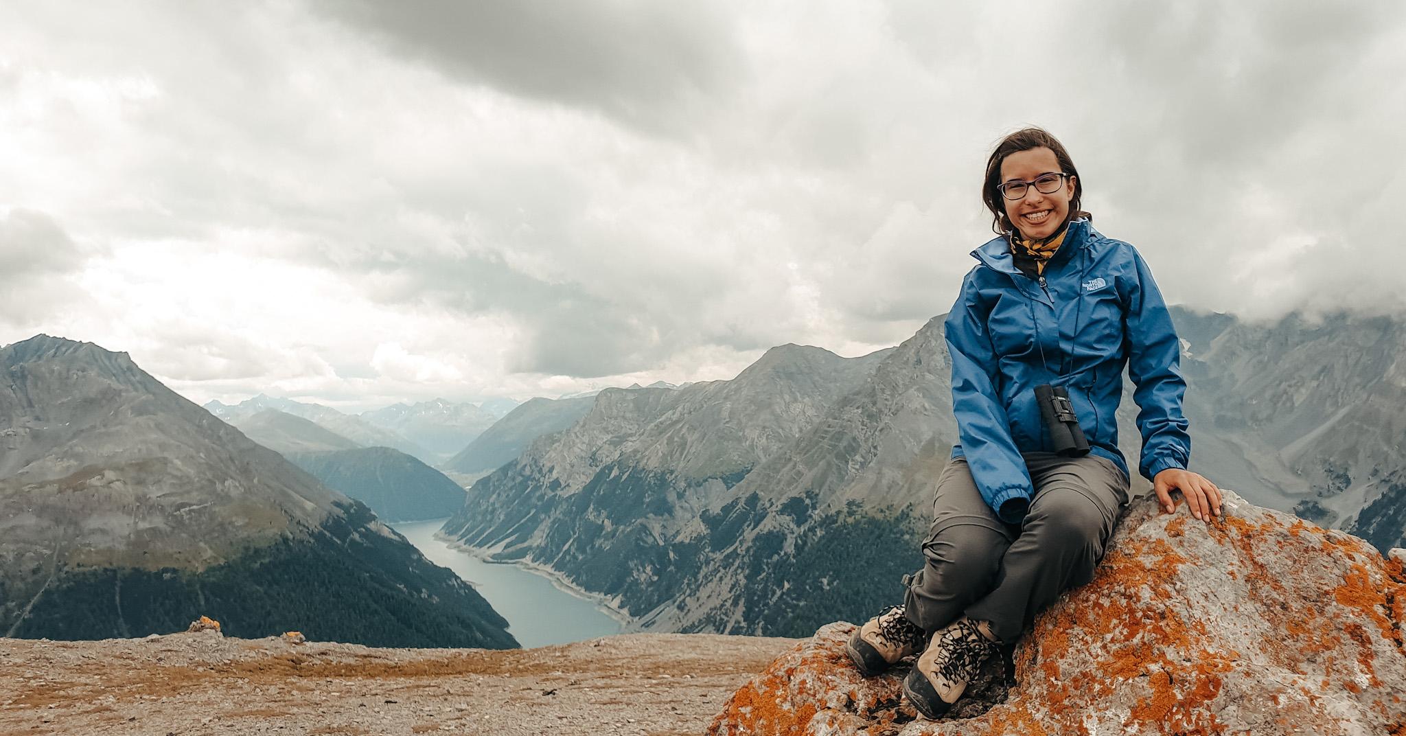 Jasmin Hirt aus dem Bachelorstudiengang Sprachliche Integration. Ein Portrait.