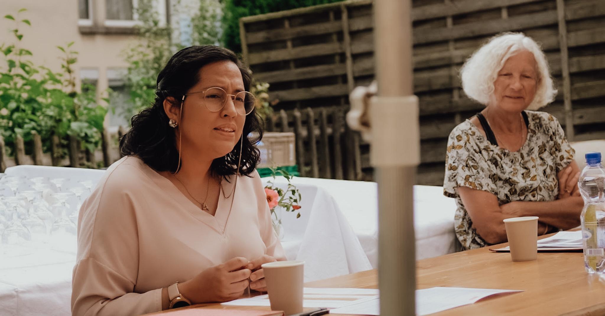 Ana Paredes im Solihaus St. Gallen über Sprache als Kernkompetenz in der Integration
