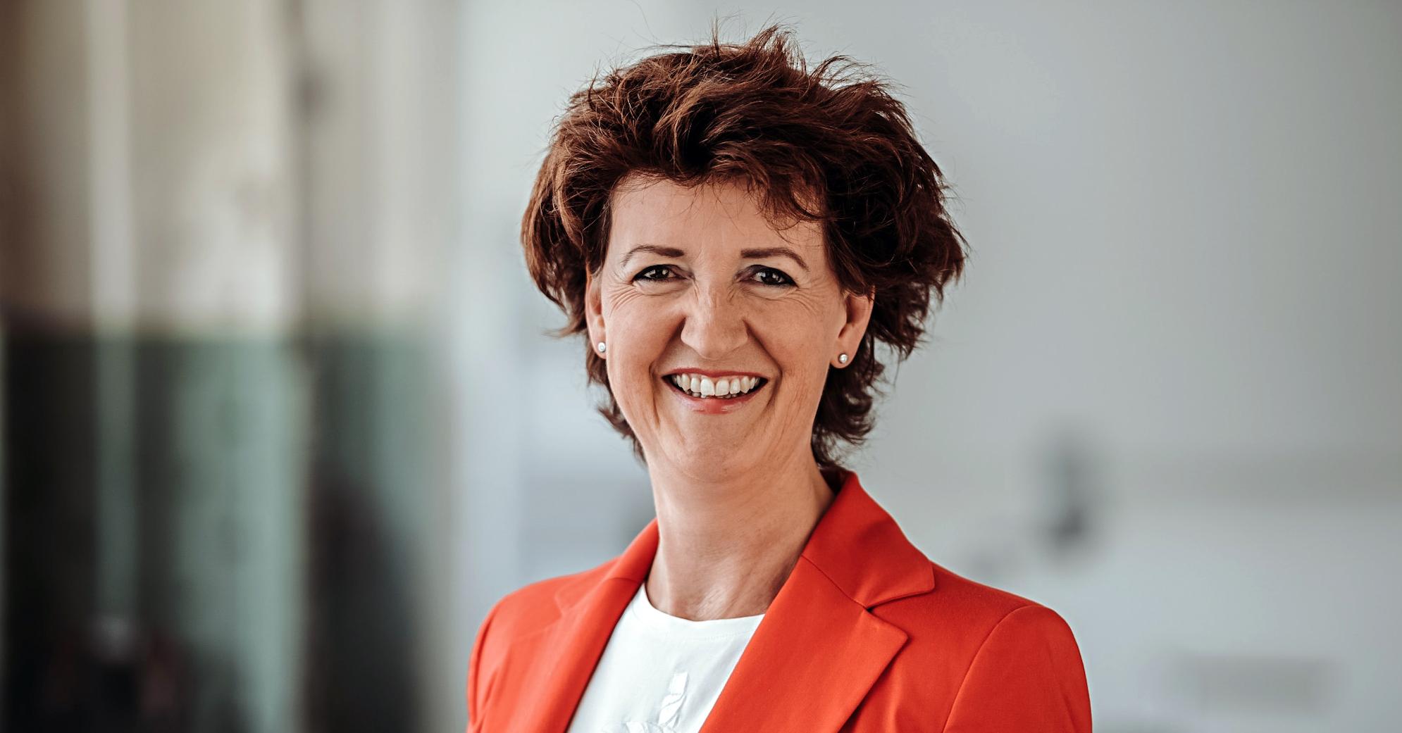 Christina Mäder Konferenzdolmetscherin im Bundeshaus Bern