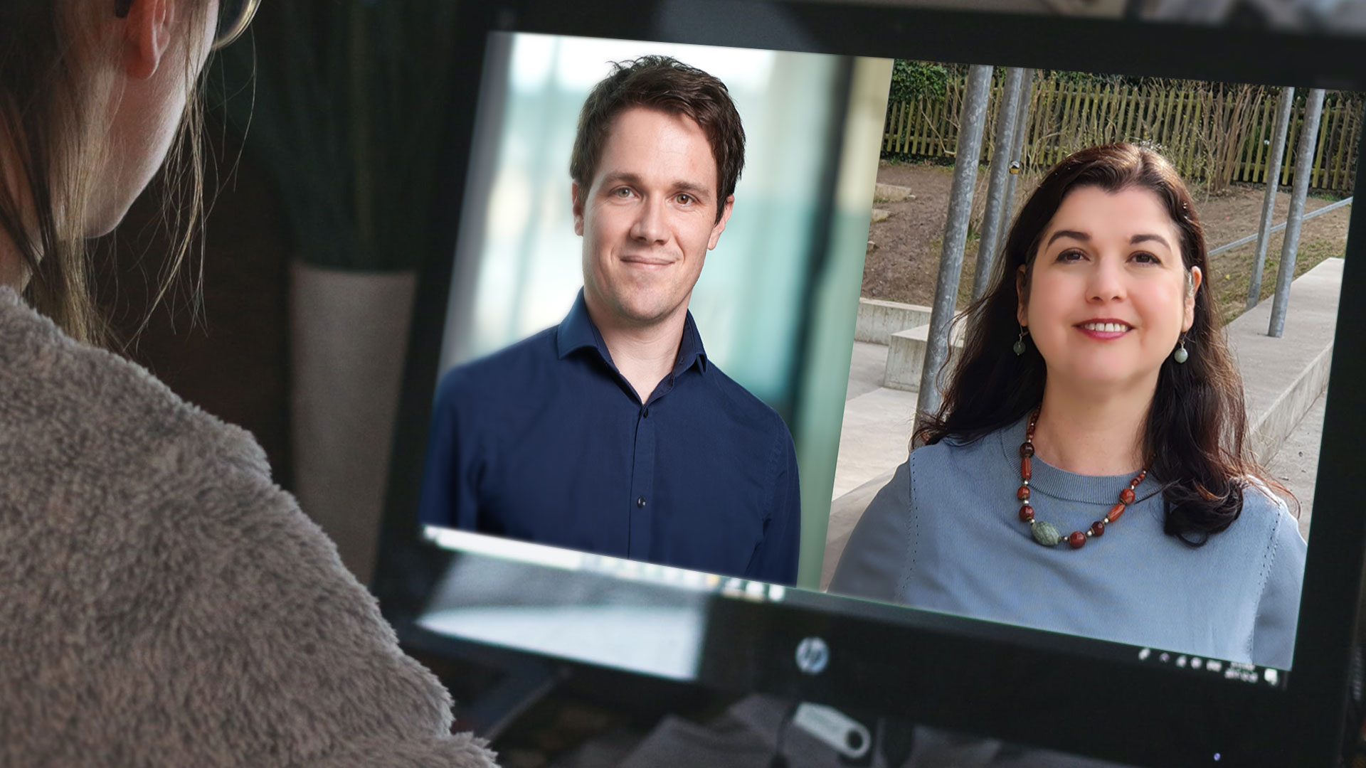 Studiengangleitung des Bachelorstudiengangs Sprachliche Integration Oliver Winkler und Marina Petkova