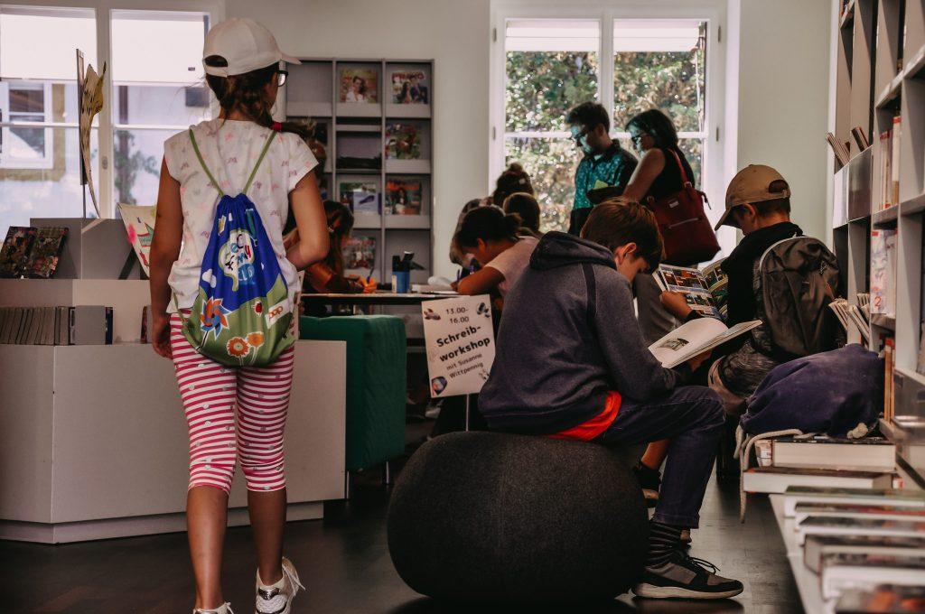 Projekt Lebendige Bibliothek mit Jugendlichen