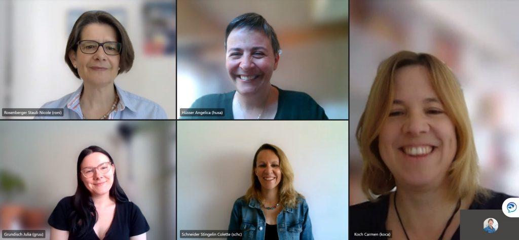 Projektteam-Schulkommunikation im digitalen Wandel-Zhaw-IAM