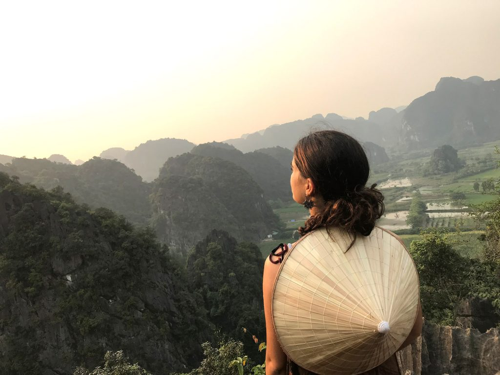 Anja Hügli, Studentin Bachelor Angewandte Sprachen in Vietnam