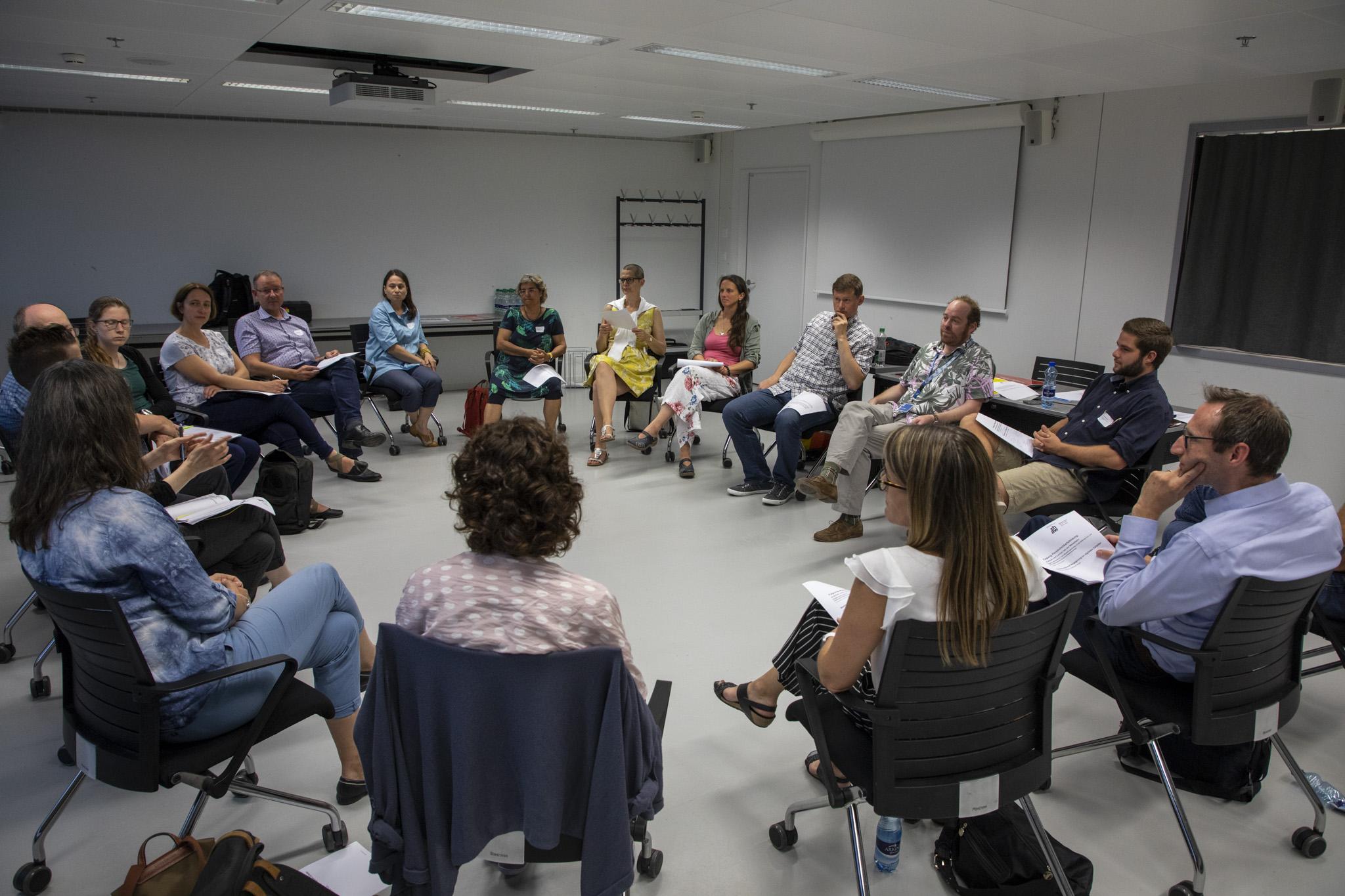 Austausch im Diskussionforum