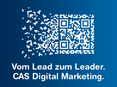 Vom Lead zum Leader. CAS Digital Marketing.