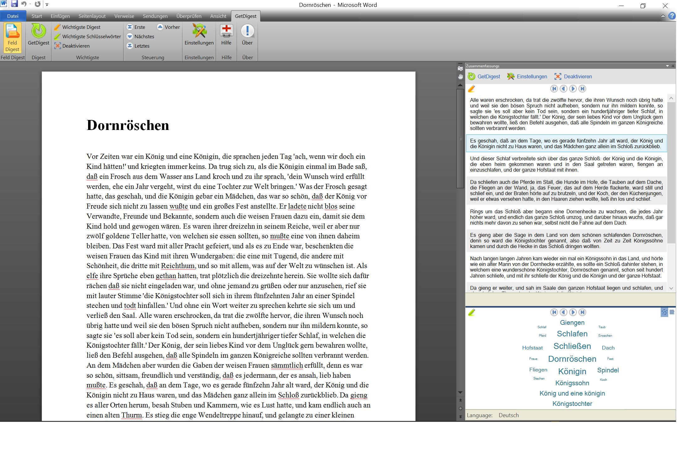 Automatisierte Textzusammenfassung Dank Schweizer Software Getdigest
