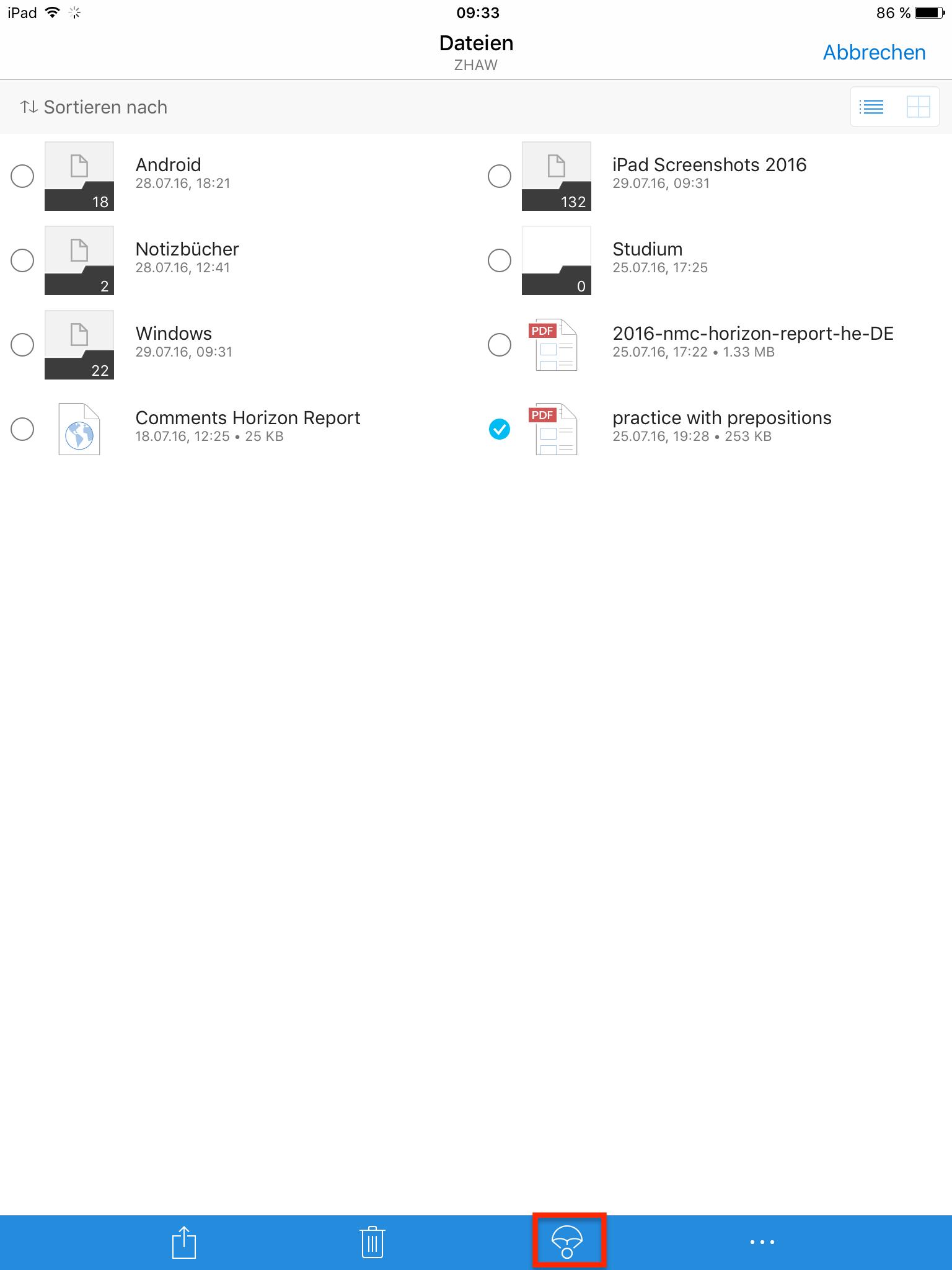 OneDrive Datei offline bearbeiten