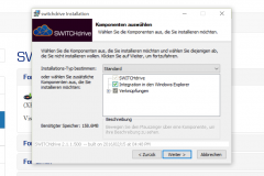 SWITCHdrive im Windows Explorer verknüpfen