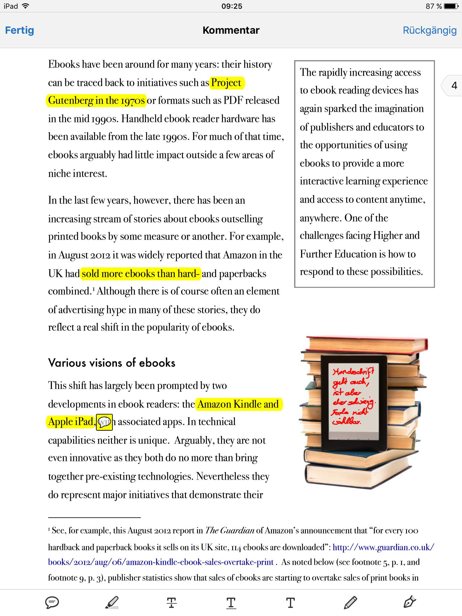 Adobe Reader Annotationen