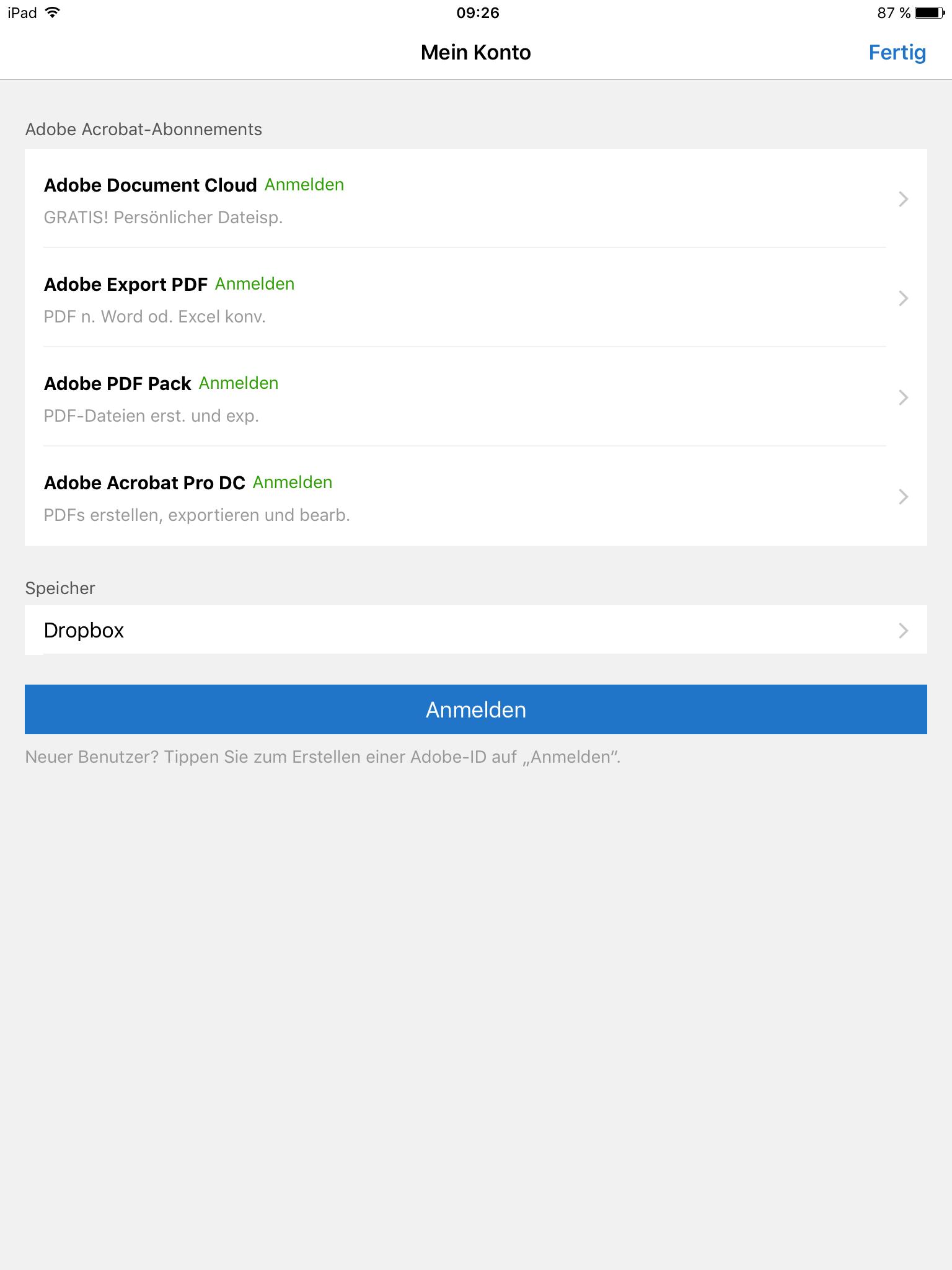 Adobe Reader Upgrades