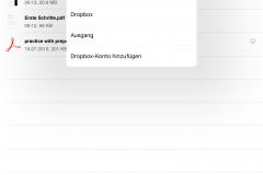 Adobe Reader Speicherdienste