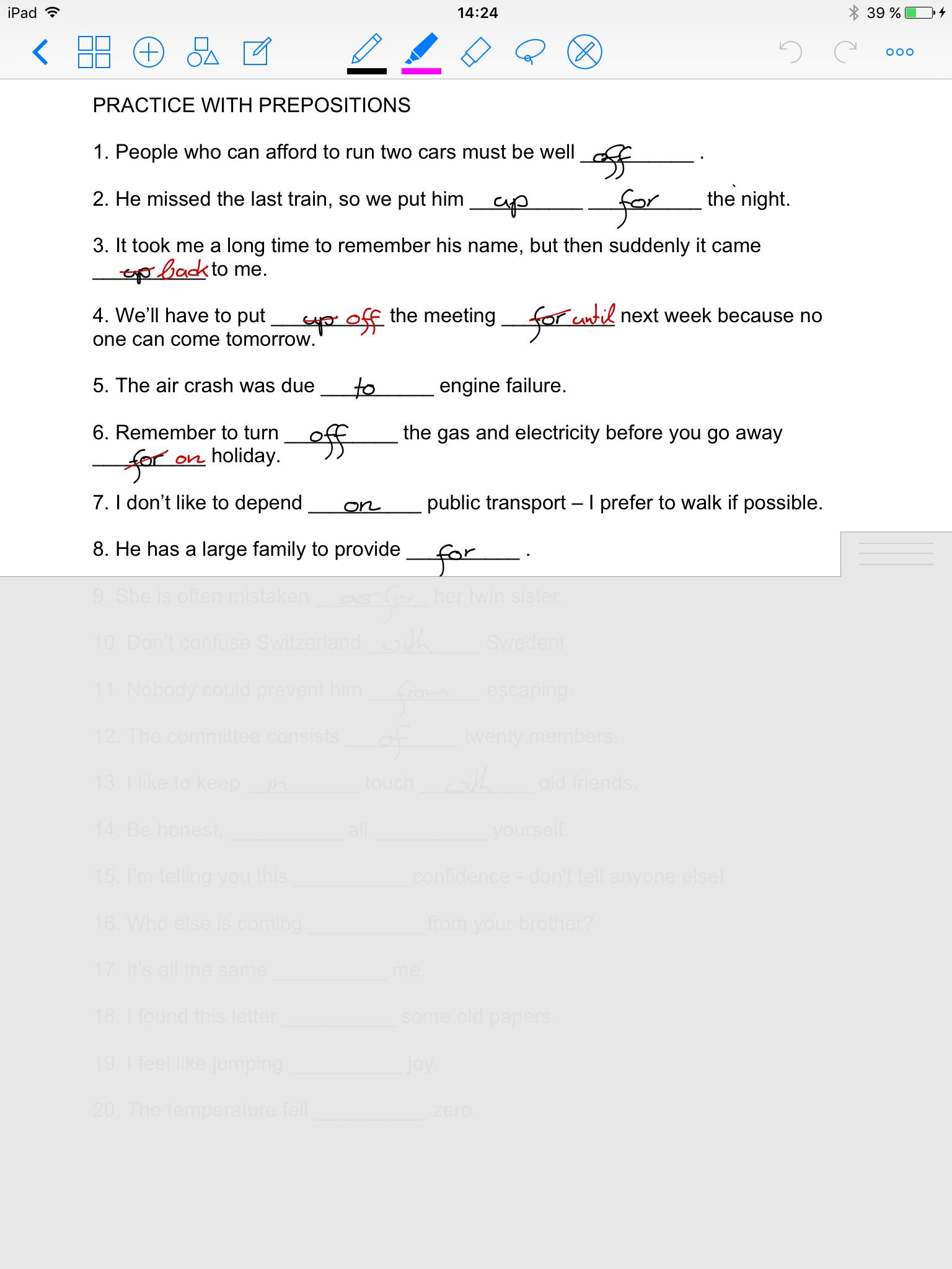 Handschriftliche Notizen | Projektblog papierloses Studium