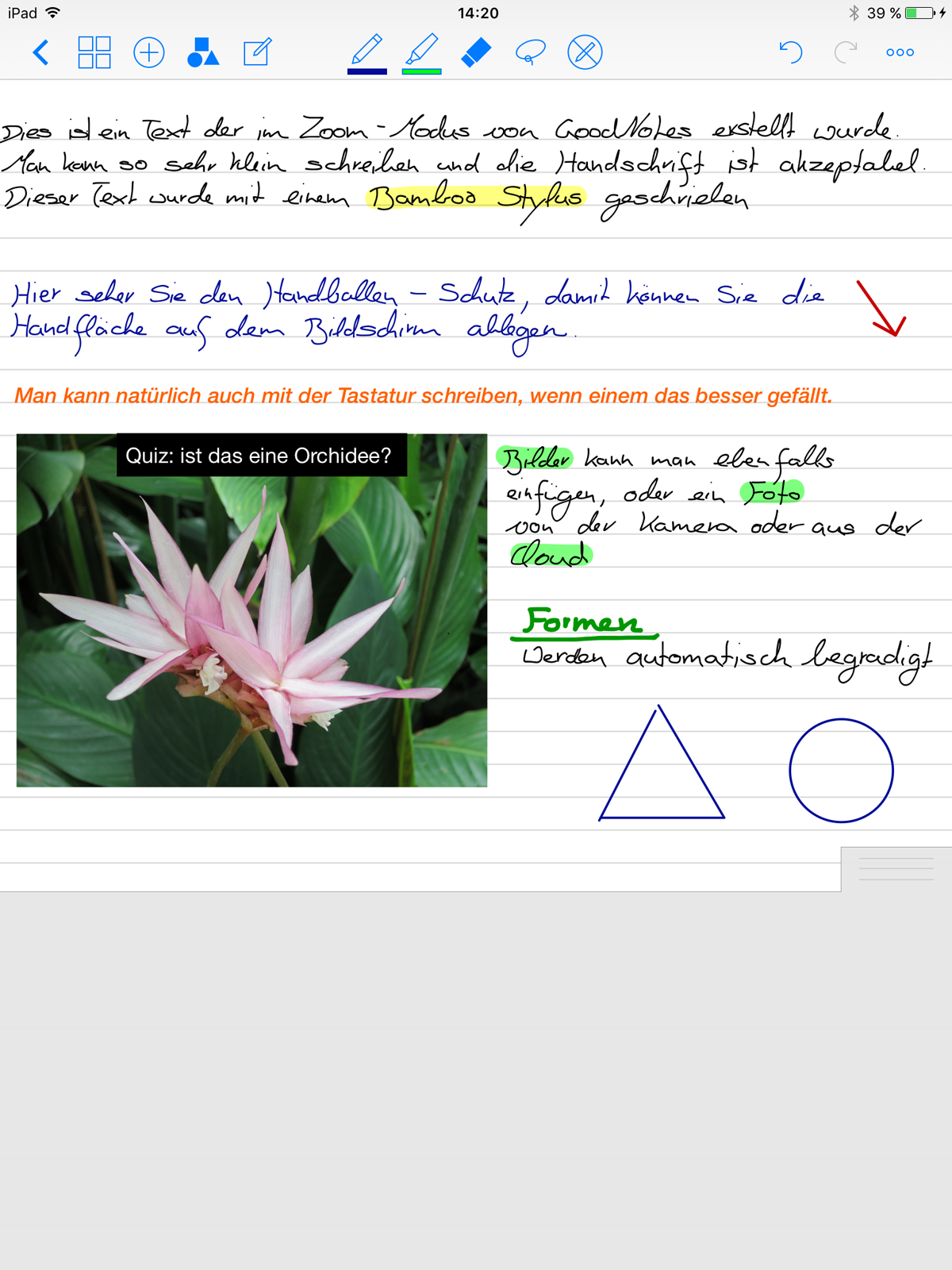 Notizen | Projektblog papierloses Studium