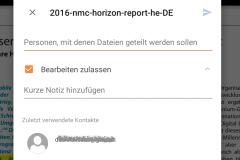 OneDrive Datei freigeben