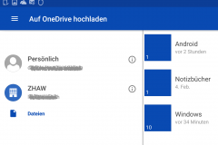 OneDrive und OneDrive for Business