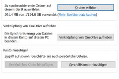 OneDrive Geschaftskonto hinzufügen