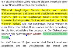 PDF Expert Überarbeitungsmodus Anmerkungen