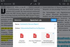 PDF Expert Anmerkungen exportieren