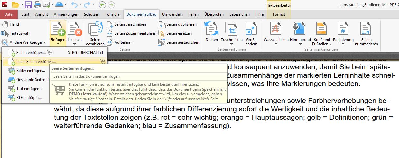 PDF XChange Editor Pro Version