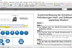 PDFX-Change Editor Zusammenfassung