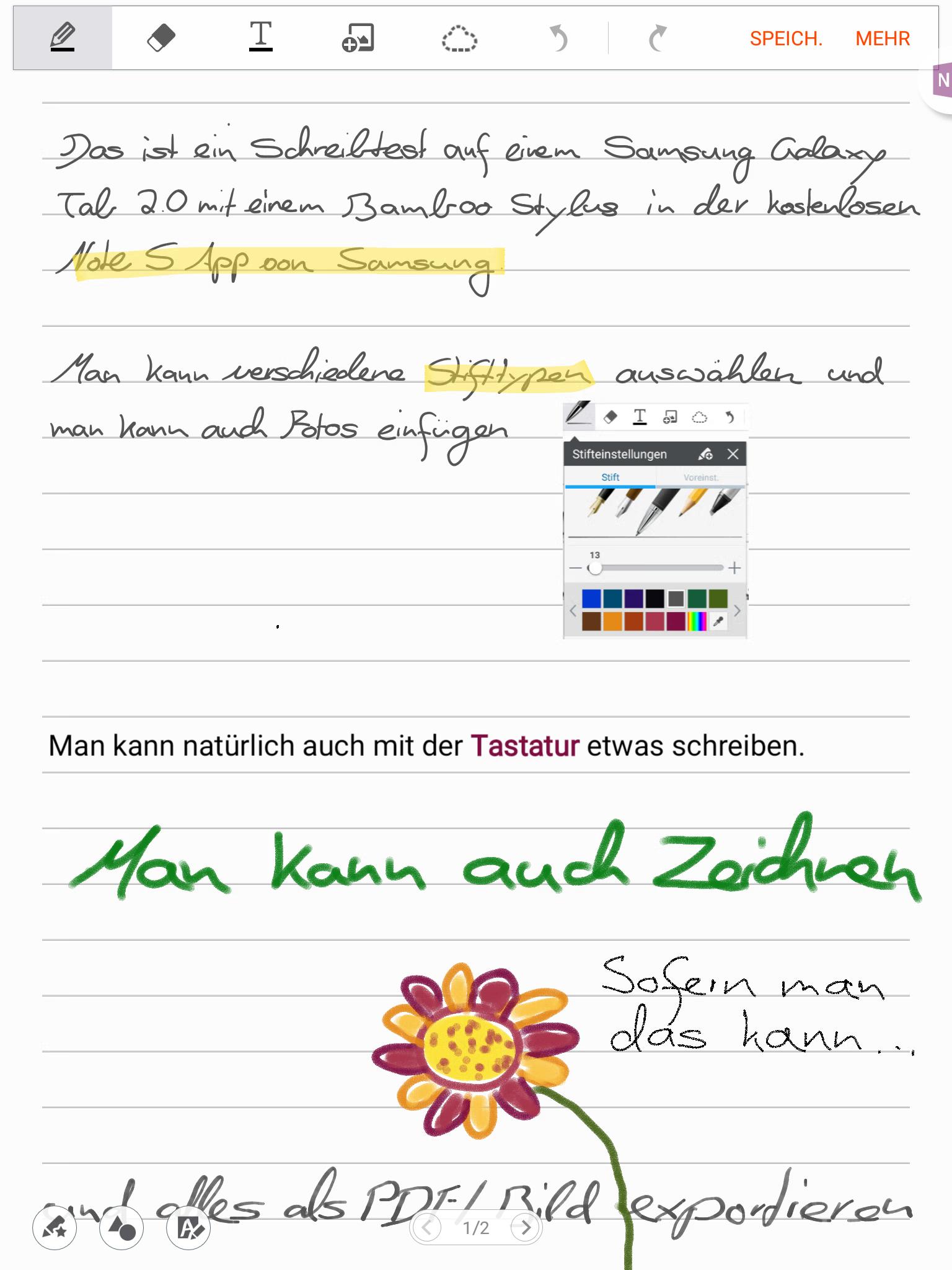 Note S Annotationen