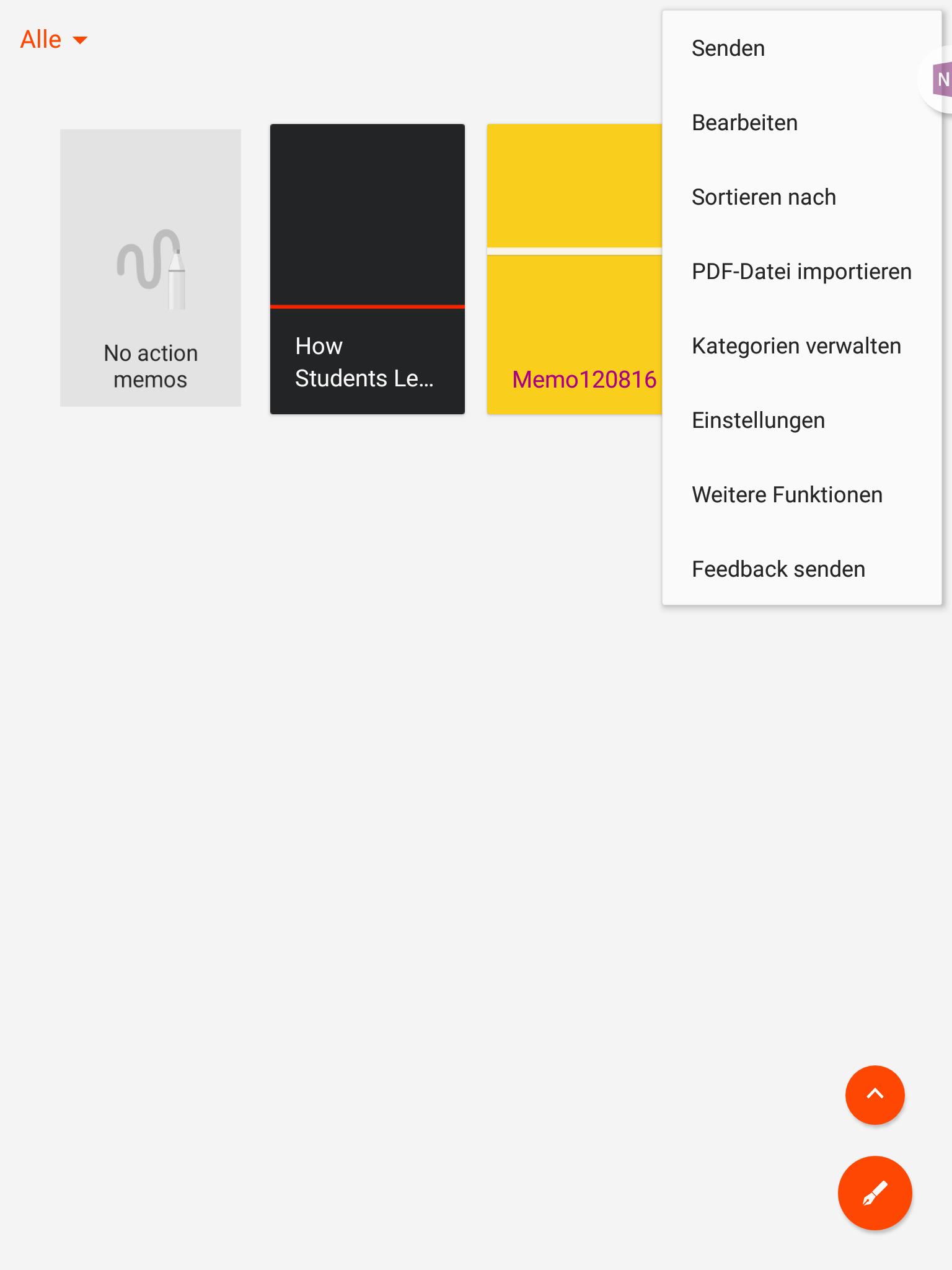 PDF importieren