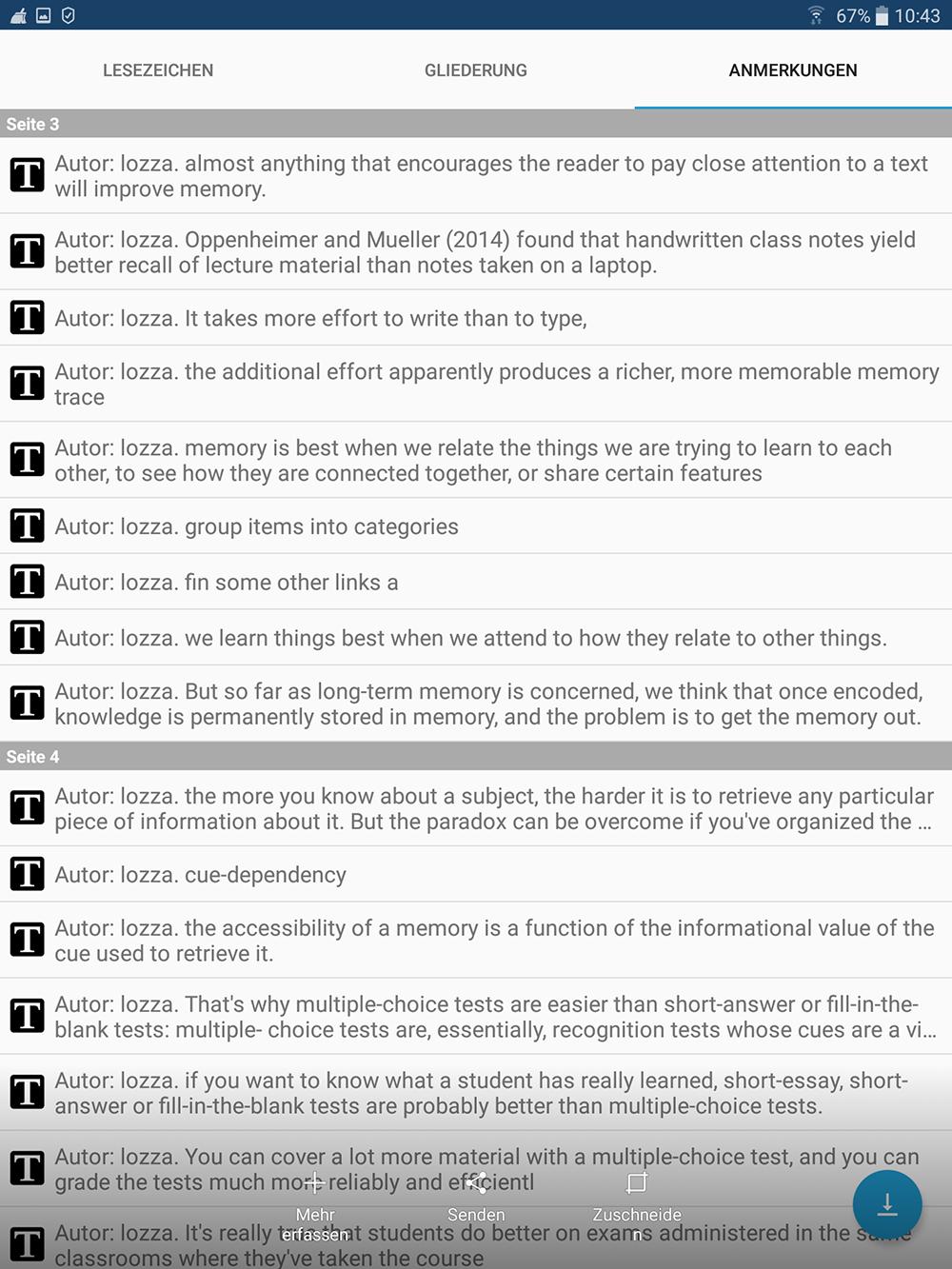 PDF bearbeiten | Projektblog papierloses Studium