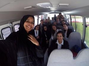 QNU bus tour