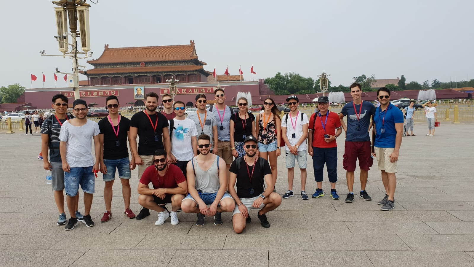 Tian'anmen Square Group Photo